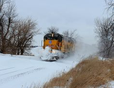 Union Pacific's freight train
