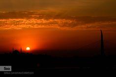 Sunset - Pinned by Mak Khalaf Istanbul Travel IstanbulNemoNikon d7000TravelTurkey by lnemol