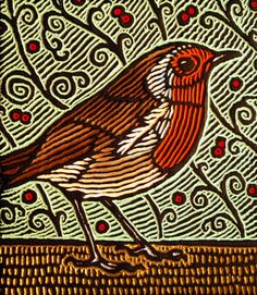Lisa Brawn is a Calgary based artist creating original woodcuts of birds, installations and alternative gallery spaces. Linocut Prints, Art Prints, Folk Art Flowers, Bird Quilt, Art Folder, Art For Art Sake, Art Plastique, Bird Art, Medium Art