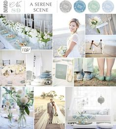 How to style your spring wedding  - Blissful blue   CHWV