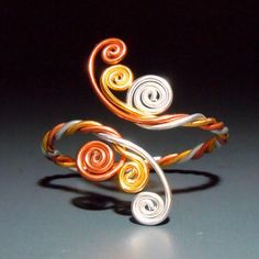 Twisted Spirals Bracelet by melissawoods on Etsy, $18.00