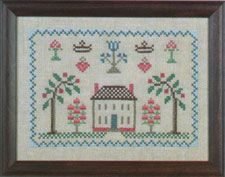 Country Stitching Antique House Stamped Cross Stitch Kit