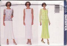 WOMENS SEWING PATTERN Butterick 5416  Easy Lace by retrochick66, $5.95
