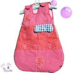 Gigoteuse bébé fille fantaisie - Poopeelili
