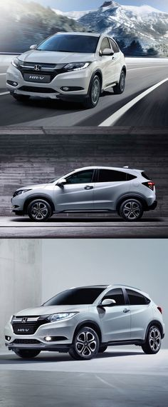 2015 Honda HR-V / Japan / white