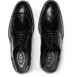 TOD'S / Leather Derby Brogues