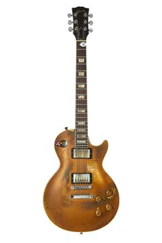 Snowy Whites Gibson Les Paul Standard Gold Solid B - by Heritage Auctions