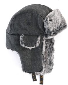 693cf3b489928 Men s Urban Pipeline Herringbone Trapper Hat Trapper Hats
