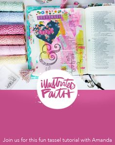 I'm so excited to be bringing this tutorial to you all today, as it is one of my most favorite additions to my bible journaling! I like to think of my journaling bible as a reflection of… Scripture Art, Bible Art, Bible Verses, Faith Bible, My Bible, Bible Study Journal, Art Journaling, Prayer Journals, Bible Prayers
