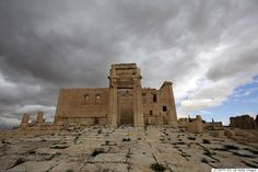 The sanctuary of Baal in Palmyra, March 14, 2014.