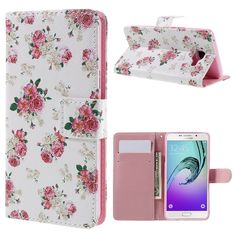 Housse à rabat Samsung Galaxy A5 2016 Liberty Fleurs Leather Wallet, Cell Phone Accessories, Samsung Galaxy, Notebook, A5, Cases, Slipcovers, Flowers, Notebooks