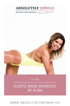 Elastic band Workout by Alma Workout, Fitness, Work Out, Exercises