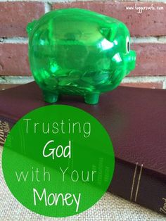Sometimes we think we are doing a great job with trusting God. But there is one area most of us struggle with. Are you trusting God with your money?