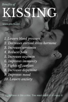 Health Benefits of Kissing love love quotes kiss love quote health kissing…