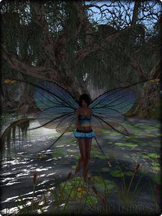 Faeline Fairy Wings - Sayuri (sunrise)