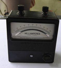 Sensitive Research Equipment/Vintage Milliamperes�