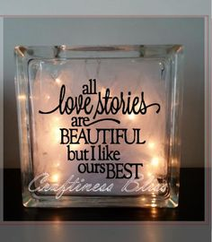 DIY All Love Stories Are Beautiful But I Like by CraftinessBliss