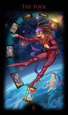 Legacy of the Divine Tarot 0 - The Fool (Tarot Card) The Fool Tarot Card. †he fool Tarot Tarot Card Decks, Tarot Cards, Vampires, Tarot The Fool, Divine Tarot, Tarot Significado, Art Carte, Tarot Major Arcana, Oracle Tarot