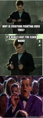 I think this EVERY TIME I watch this part of HP DH 2 Harry Potter Mean Girls mashup