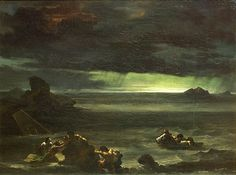 Théodore Géricault, Scene de Déluge