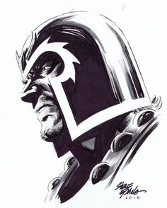 astonishingx:  Magneto by Steve Epting