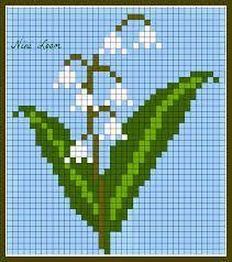 Bead Loom Patterns, Beading Patterns, Cross Stitch Patterns, Pixel Art Fleur, C2c, Loom Beading, Perler Beads, Textile Art, Corner