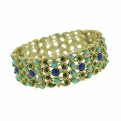 Claudia Stretch Cuff Bracelet 1928 Jewelry. $35.95. 1928 Jewelry Collection. Vintage Fashion. Save 50%!
