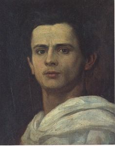 """Auto-retrato"" (1878), Almeida Junior"