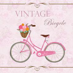 Women On Bicycles Art | BICICLETA VINTAGE Clip art plus descolorado por…