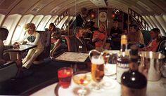 "Qantas B747 ""Captain Cook First Class Lounge"""