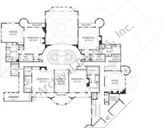 Castle of Ourem House Plan - Second Floor