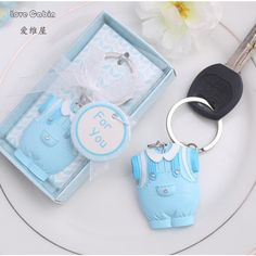 24pcs Pink Blue Mini Horses Baby Shower Christening Favor Party Table Decoration