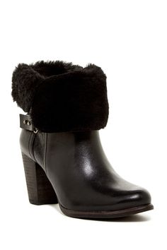 Jayne Cuffable Genuine Shearling Bootie