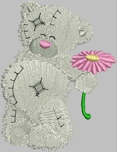 Daia's designs: Embroidery designs Embroidery Designs, Teddy Bear, Animals, Animales, Animaux, Teddybear, Animais, Animal