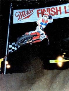 Danny Magoo Chandler - Vintage Honda Motocross