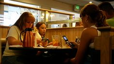 If a parent was totally engrossed with their phone, their interactions with their children were often more negative than those who put the phone away during the meal.
