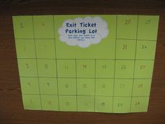Mrs. Lodge's Library: Exit Tickets