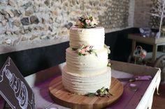 natural wedding cake at the granary barns,