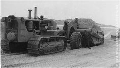 Largest wheel tractor scraper in Caterpillar history. Description from pinterest.com. I searched for this on bing.com/images