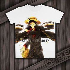 Anime One Piece Luffy Clothing Casual Fashion Short Sleeve Unisex T-shirt #Unbranded #Casual