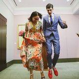 Prospect Park Session & City Hall Wedding, LL Style Photo