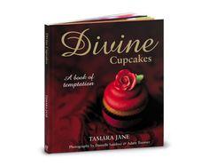 Divine Cupcakes: A Book of Temptation Book Cupcakes, Cookbook Design, Paper Cutting, Cake Decorating, Branding Design, Baking, Books, Amazon, Cover