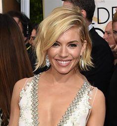 Sienna Miller 2015 Golden Globe Awards