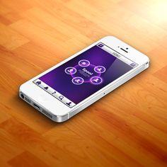 iPhone app concept.