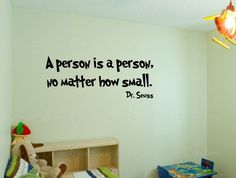 dr seuss wall decals | Dr. Seuss quote - wall decal - wall quote - home vinyl wall decal ...