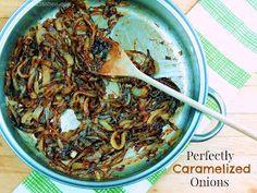 Bobbi's Kozy Kitchen: How to Make Perfectly Caramelized Onions