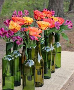 Simplest DIY Glass Bottle Idea Ever