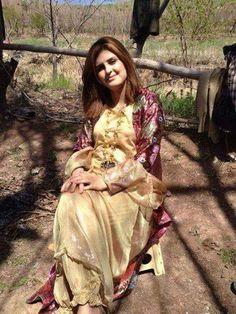 Kurdish Girl in her traditional Dress.
