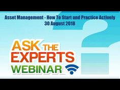 "We are happy to share the ""Ask the Expert"" webinar, Ross Waugh and Heather Himmelberger held on 30 August 2018 at Albuquerque, New Mexico. 30 August, Asset Management, New Mexico, Hold On, Learning, Happy, Blog, Blogging, Study"