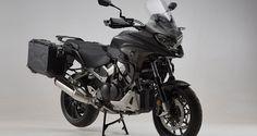 SW-MOTECH stattet Honda VFR 800 X Crossrunner aus | ALPENTOURER